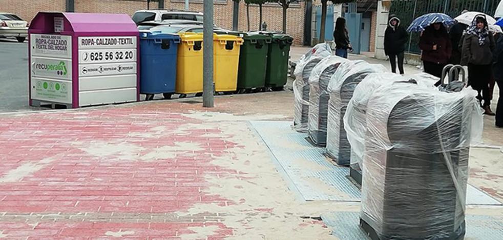 El Ayutamiento de Arévalo pone en marcha la tercera fase en el soterramiento de contenedores de residuos urbanos