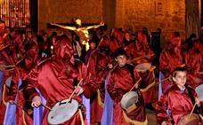 Programa de procesiones del Viernes de Dolores, 12 de abril, en Segovia