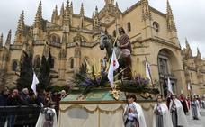 Programa de procesiones del Domingo de Ramos, 14 de abril, en Segovia