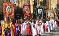 Programa de procesiones del Domingo de Resurrección, 21 de abril, en Segovia