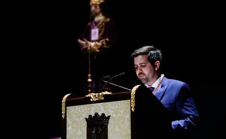 Abraham Coco pronuncia el pregón de la Semana Santa de Salamanca