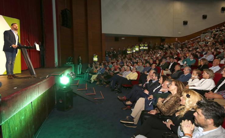 Multitudinario mitin de Vox en Palencia