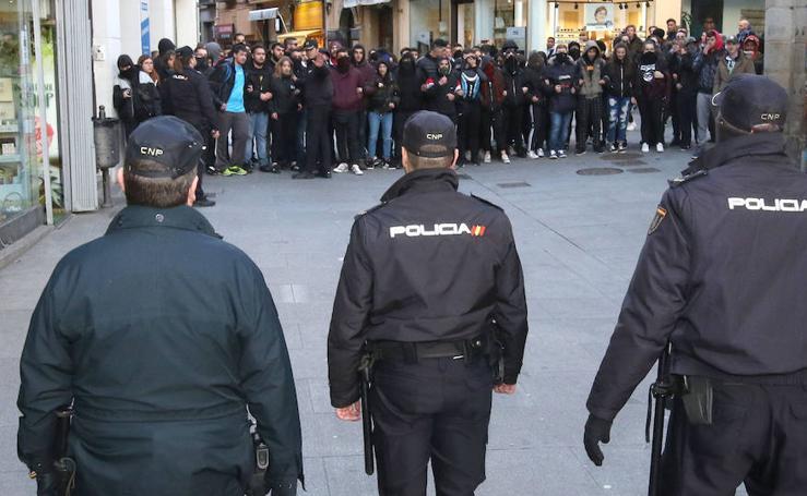 Altercados en un acto de Vox en Segovia