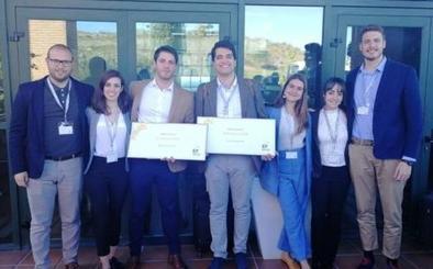 Dos alumnos de la UVA, entre los ganadores de la prestigiosa competición de simulación de gestión empresarial EY Challenge