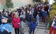 Desalojo de un edificio en Salamanca
