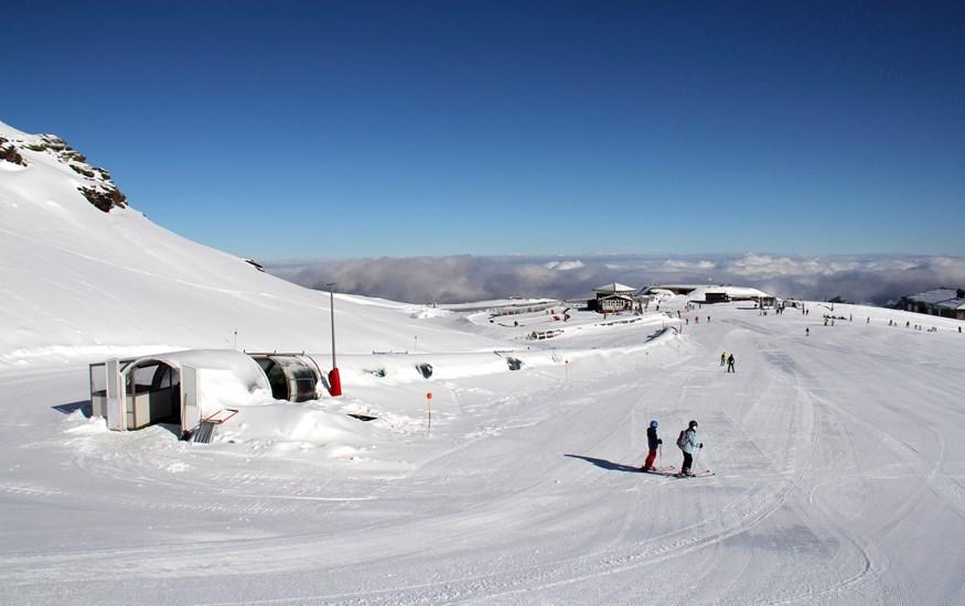 Las nevadas permiten seguir disfrutando de Sierra Nevada