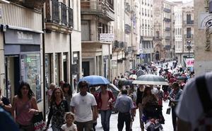 Salamanca perdió un vecino cada seis horas del año pasado y bajó de los 330.000 habitantes