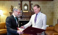 El exministro británico Michael Portillo, nuevo embajador del VIII Centenario