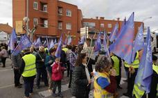 Nueva protesta en Peñafiel para reclamar la Autovía del Duero