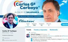 García Carbayo estrena cuenta en diversas redes sociales como candidato a la Alcaldía