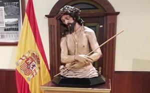 El Ejército saca a la calle por vez primera una imagen de su propiedad para que procesione en Valladolid