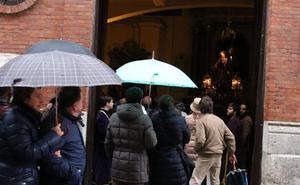 El riesgo de lluvia regresará a Valladolid el Lunes Santo con la entrada de un frente atlántico