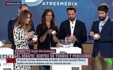 Sánchez abrirá el debate electoral e Iglesias tendrá el 'minuto de oro'