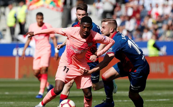 Las mejores imágenes del Huesca-Barcelona