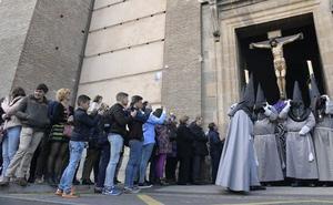 El Ejercicio de las Cinco Llagas cierra un gran sábado en Valladolid