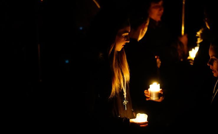 Traslado del Cristo del Amor y de la Paz en Salamanca