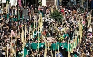 Recorrido de las procesiones del Domingo de Ramos en Valladolid