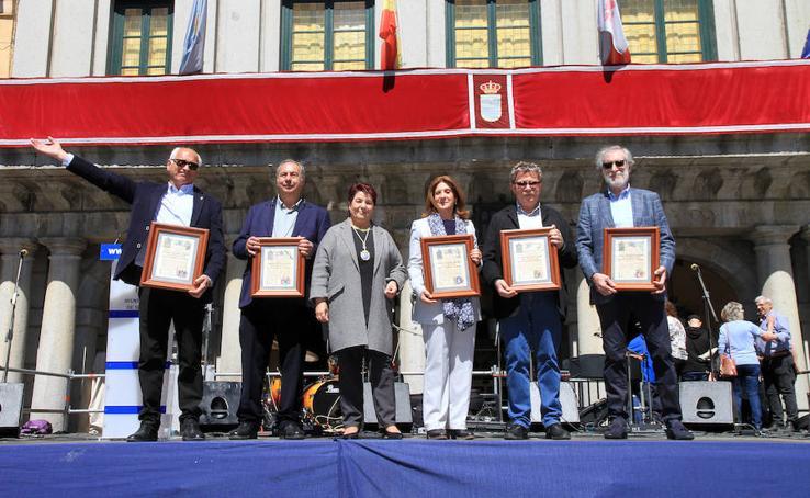 El Nuevo Mester de Juglaría, Hijos Predilectos e Hija Adoptiva de Segovia