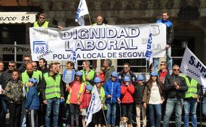 Los policías locales de Segovia cobran 300 euros menos que los del resto de Castilla y León