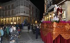 Procesión de la Sentencia en Palencia