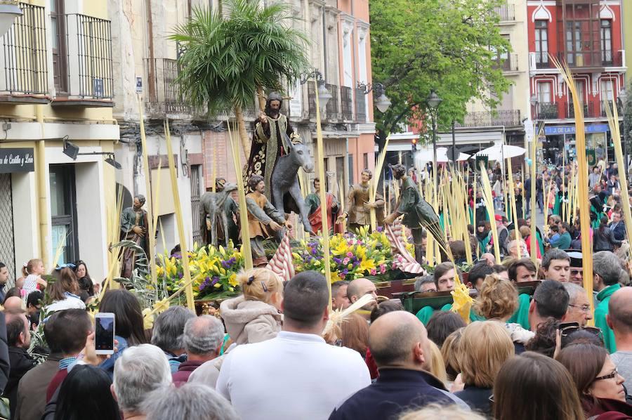 Procesión de Las Palmas en Valladolid