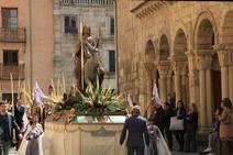 Procesión de la Borriquilla en Segovia
