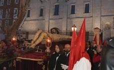 Traslado del Cristo de los Trabajos en Valladolid
