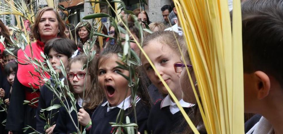 Valladolid vive una «gloriosa» procesión de la Borriquilla