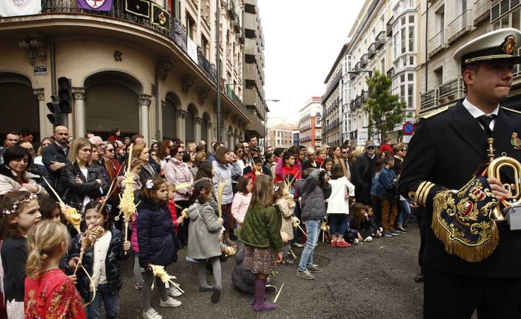 Procesión de la Borriquilla en Valladolid (2/6)
