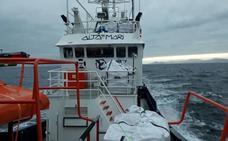 El buque 'Aita Mari' denuncia que España no le permite navegar con ayuda humanitaria a Grecia