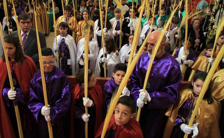 Domingo de Ramos. Bendición de las palmas en San Miguel