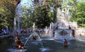 Estas son las fuentes monumentales del Palacio de La Granja que correrán en Semana Santa