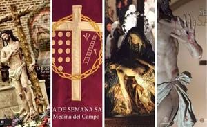 El Norte regalará imanes de la Semana Santa de Rioseco, Medina, Nava del Rey y Olmedo