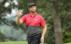 Rahm termina entre los diez primeros en el Masters de Augusta