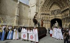 Procesión del Domingo de Ramos en Palencia