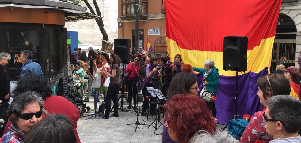 Encontronazo al final de la procesión del Domingo de Ramos de Valladolid