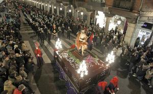 Recorrido de las procesiones del Lunes Santo en Valladolid