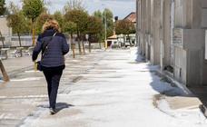 Tormenta de granizo en Valladolid