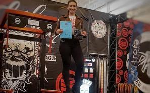 Isabel Sanz Águeda, una deportista de récord