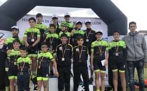 Éxito del II Trofeo Ayuntamiento de Béjar de la Copa de BTT de Escuelas
