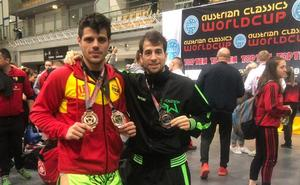 Una plata y dos bronces para José Ricardo Huerta y Manuel García en en la Copa del Mundo Austrian Classics