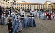 Procesión de Las Cinco LLagas en Palencia