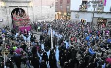 La Bajada de la Libertad fue escenario de la llegada del Jesús de Medinaceli a la Catedral