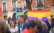 Los políticos reaccionan en campaña ante el encontronazo entre cofrades y republicanos en Valladolid