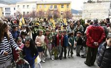 Protagonismo para los más pequeños en el Domingo de Ramos de El Espinar