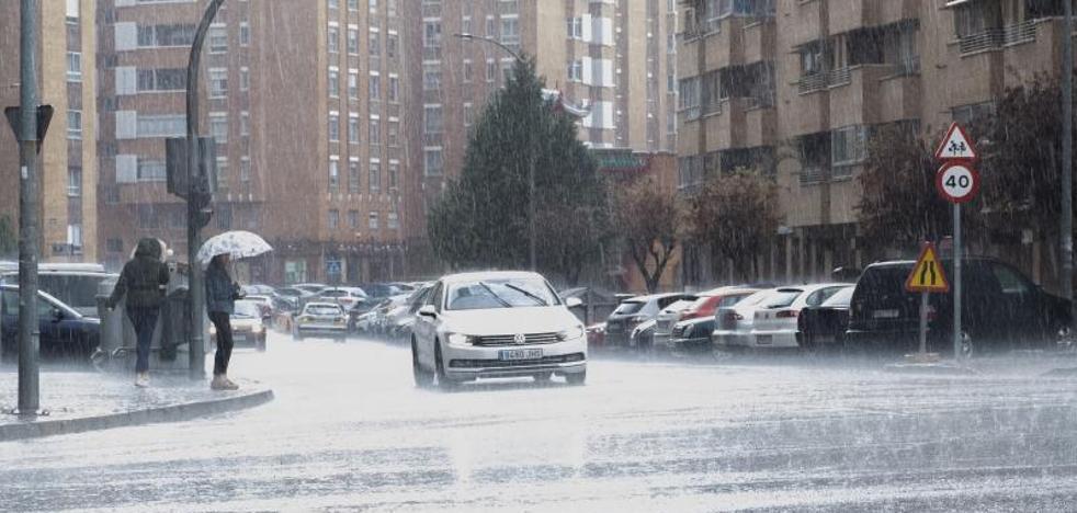 Valladolid entra en alerta por tormentas por la llegada de un nuevo frente atlántico