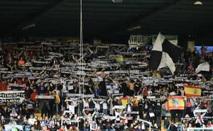 El Salamanca CF rechaza los gritos de Piojo muérete de su afición «en el caso de que un grupo de 'desalmados' así lo hubieran hecho»