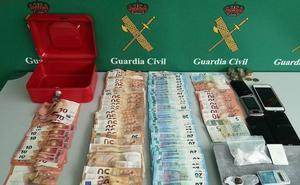 Desarticulados dos puntos de venta de droga en Palencia