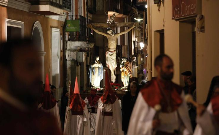 Procesión del Cristo de la Buena Muerte en Peñafiel