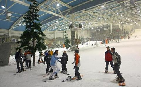 Madrid SnowZone, destino central
